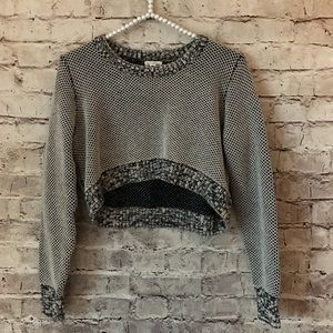Urban Outfitters Silence Noise Large Crop Sweater